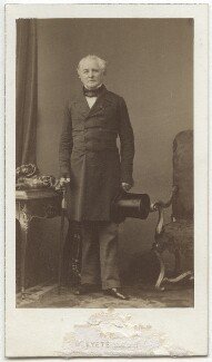 Sir George Brown, by Disdéri - NPG x4729