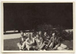Guy Osborn; Budge Fraser; Arthur Jeffress and friends, by Unknown photographer - NPG x47334