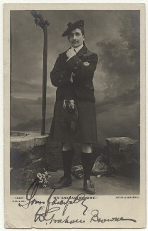 William Graham Browne, by Alexander Corbett, for  Alfred Ellis & Walery, published by  J. Beagles & Co - NPG x4739