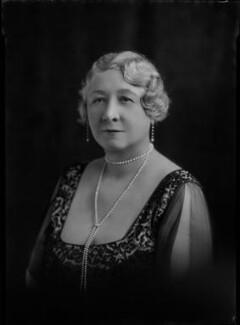 Carolina Mary (née Lobb), Lady Aitken, by Lafayette - NPG x47413