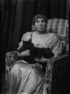 Marcella Araminta Victoria ('Ella') (née Ross), Countess of Aylesford, by Lafayette - NPG x47434
