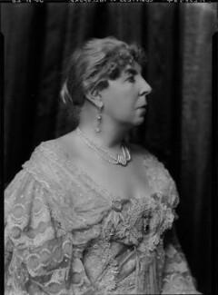 Marcella Araminta Victoria ('Ella') (née Ross), Countess of Aylesford, by Lafayette - NPG x47435