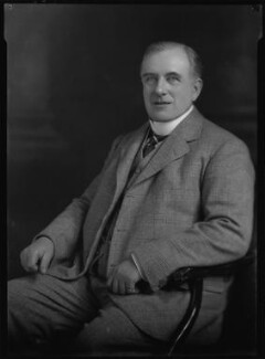 Cecil Beckwith Cave-Brown-Cave, by Lafayette - NPG x47570