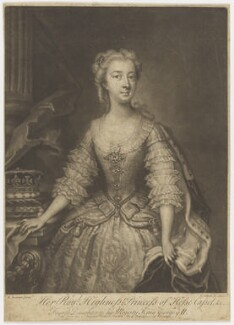 Princess Mary of Hesse, by John Simon, after  Enoch Seeman - NPG D10792
