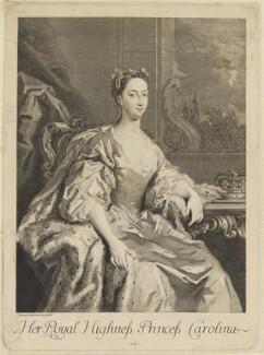 Princess Caroline Elizabeth, after Jacopo Amigoni, circa 1735 - NPG D10793 - © National Portrait Gallery, London