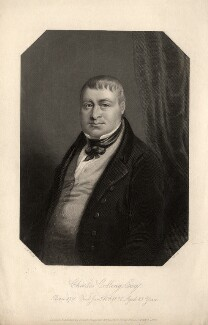 Charles Colling, by G. Cook, published by  Joseph Rogerson, after  John Massey Wright - NPG D10804