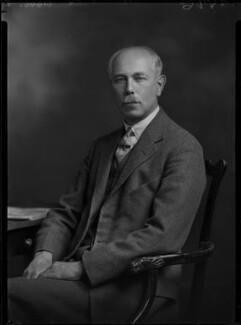 Francis William Ashton, by Lafayette (Lafayette Ltd), 9 November 1931 - NPG x47838 - © National Portrait Gallery, London