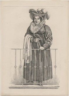 Caroline Amelia Elizabeth of Brunswick, by and published by Richard Dighton, published 1820 - NPG  - © National Portrait Gallery, London