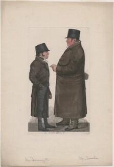 'A contract' (Mr Damington; Mr Tremloe), by and published by Richard Dighton - NPG D10811
