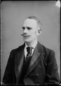 Leonard Lyell, 1st Baron Lyell, by Alexander Bassano - NPG x4803