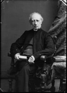Charles John Ellicott, by Alexander Bassano - NPG x4816