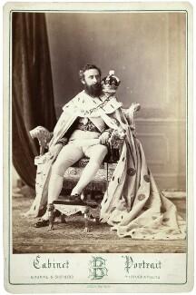 Edward Robert Bulwer-Lytton, 1st Earl of Lytton, by Bourne & Shepherd, 1877 - NPG  - © National Portrait Gallery, London