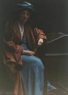 Olive Edis, by Katharine Legat (née Edis) - NPG x45530