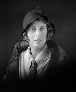 Norah Nell Spread (née Hotblack), by Lafayette - NPG x48316