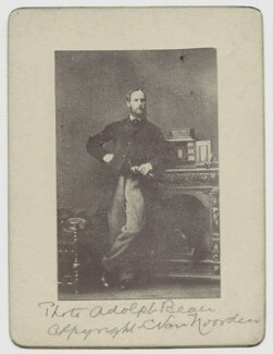 Hon. Robert Bruce, copy by C. Eskell van Noorden, after  Adolphe Paul Auguste Beau, for  Camille Silvy - NPG x4832