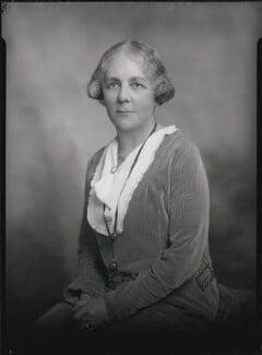 Mary Sturge Gretton (née Sturge), by Lafayette - NPG x48380