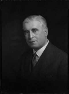 Arthur John Rushton O'Brien, by Lafayette (Lafayette Ltd), 10 March 1933 - NPG x48471 - © National Portrait Gallery, London