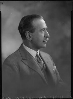 Sir Algernon Edward Aspinall, by Lafayette, 15 March 1933 - NPG x48474 - © National Portrait Gallery, London