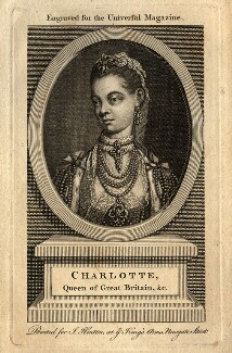 Charlotte of Mecklenburg-Strelitz, after Thomas Frye - NPG D10817