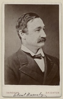 Frederick Burnaby, by Donovan, 1870s - NPG x4900 - © National Portrait Gallery, London