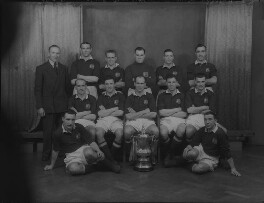 Manchester United Football Team in 1948 Cup Final Shirts, by Lafayette - NPG x49042