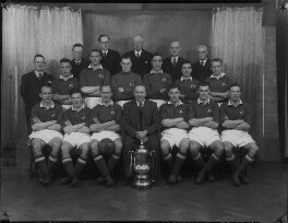 Manchester United Football Team in 1948 Cup Final Shirts, by Lafayette - NPG x49043