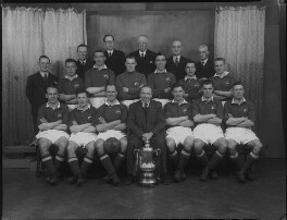 Manchester United Football Team in 1948 Cup Final Shirts, by Lafayette - NPG x49044
