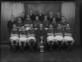 Manchester United Football Team in 1948 Cup Final Shirts, by Lafayette - NPG x49045