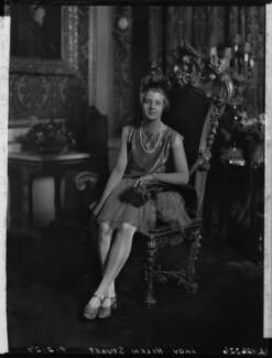 Lady Helen Maglona Walsh (née Vane-Tempest-Stewart), by Lafayette - NPG x49098