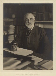 John Elliott Burns, by Reginald Haines, circa 1913 - NPG x4926 - © National Portrait Gallery, London