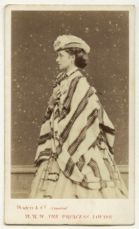 Princess Louise Caroline Alberta, Duchess of Argyll, by Disdéri - NPG x4943