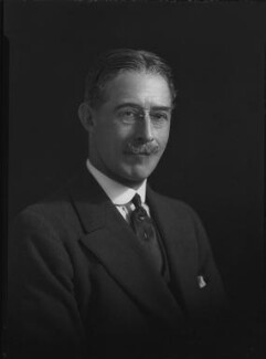 Lawrence John Lumley Dundas, 2nd Marquess of Zetland, by Lafayette - NPG x49475