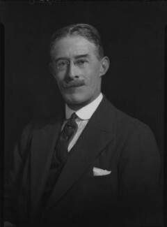 Lawrence John Lumley Dundas, 2nd Marquess of Zetland, by Lafayette - NPG x49477