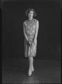 Nancy Beaton, by Lafayette - NPG x49538