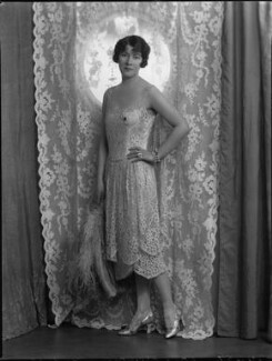 Kathleen (née Mason), Lady Aspinall, by Lafayette (Lafayette Ltd), 9 February 1928 - NPG x49559 - © National Portrait Gallery, London