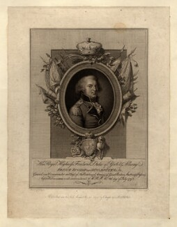 Frederick, Duke of York and Albany, by Luigi Schiavonetti, after  John Bogle - NPG D10828