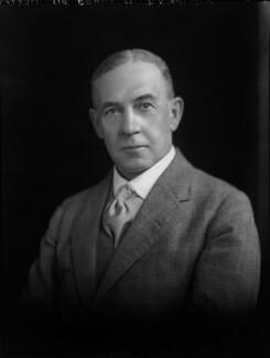 Sir Frank Morrish Baddeley, by Lafayette - NPG x49681