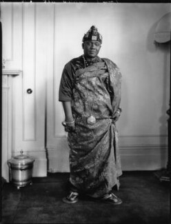 Nana Sir Ofori Atta, by Lafayette (Lafayette Ltd), 22 June 1928 - NPG x49766 - © National Portrait Gallery, London