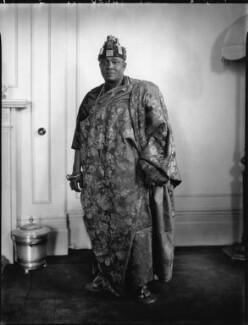 Nana Sir Ofori Atta, by Lafayette (Lafayette Ltd), 22 June 1928 - NPG x49769 - © National Portrait Gallery, London
