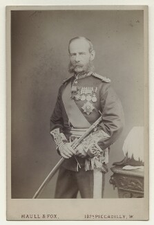Frederick Sleigh Roberts, 1st Earl Roberts, by Maull & Fox, after 1877 - NPG x4977 - © National Portrait Gallery, London