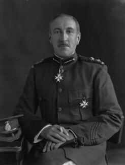 Sir Edward Taswell Campbell, 1st Bt, by Lafayette - NPG x49820