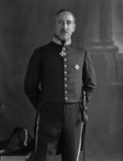 Sir Edward Taswell Campbell, 1st Bt, by Lafayette - NPG x49821