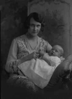 Hugh Noyes; Mary Angela Noyes (née Mayne), by Lafayette - NPG x49911