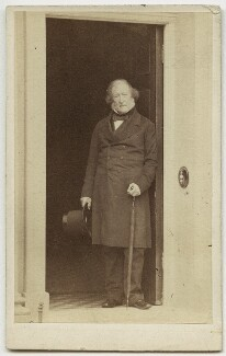 John Campbell, 1st Baron Campbell, by Caldesi, Blanford & Co, early 1860s - NPG x5030 - © National Portrait Gallery, London