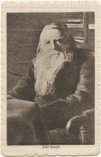 John Ruskin, after Charles Philip McCarthy - NPG x5101