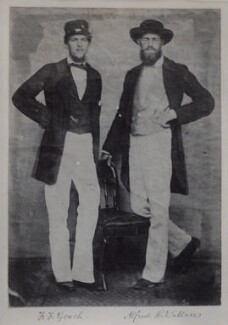F.F. Geach; Alfred Russel Wallace, by Unknown photographer - NPG x5110
