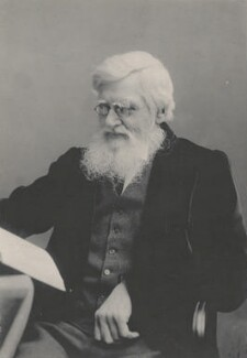 Alfred Russel Wallace, by Florence Chant - NPG x5114