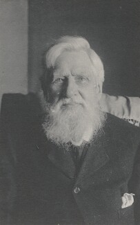 Alfred Russel Wallace, by Florence Chant - NPG x5116