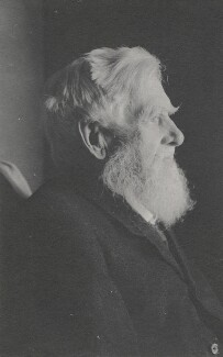 Alfred Russel Wallace, by Florence Chant - NPG x5118