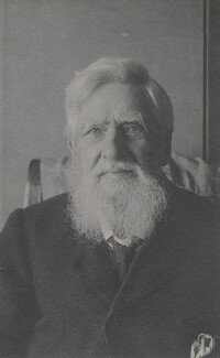 Alfred Russel Wallace, by Florence Chant - NPG x5119
